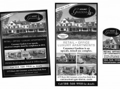 Cataumet Gardens Advertising