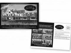 Cataumet Gardens Direct Mail Postcard