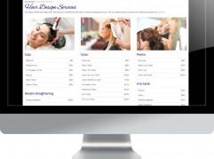Rapture Salon & Spa website