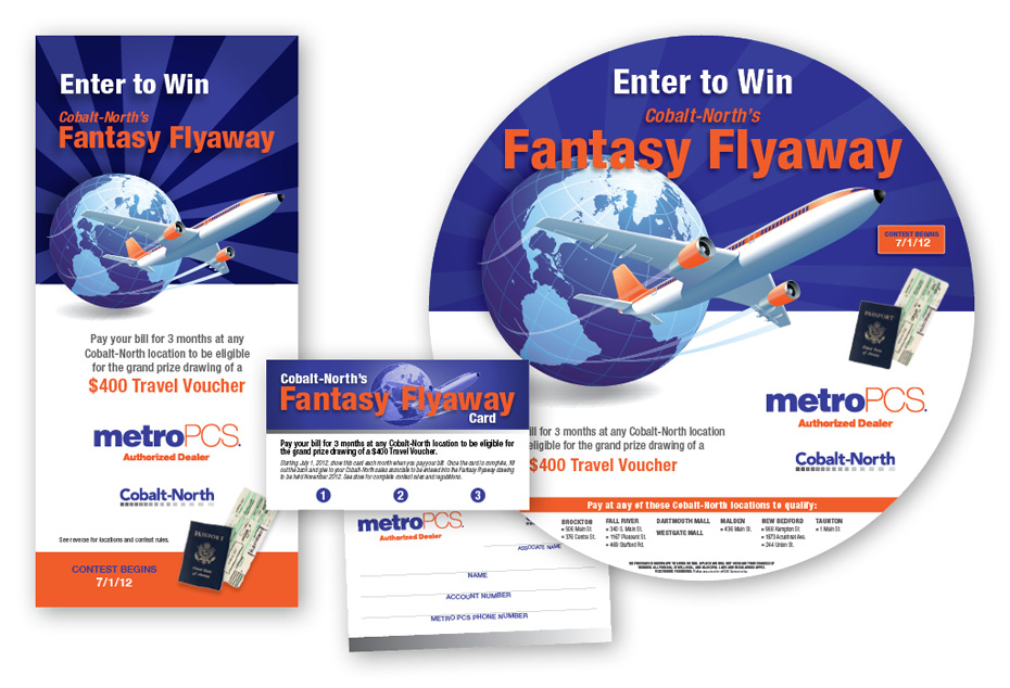 Cobalt-North Flyaway Contest Materials