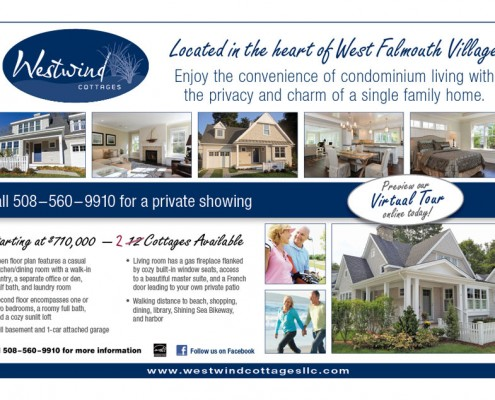 Westwind Cottages Advertising