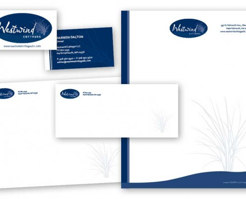 Westwind Cottages Identity Materials
