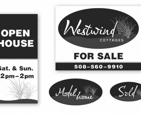 Westwind Cottages Signage